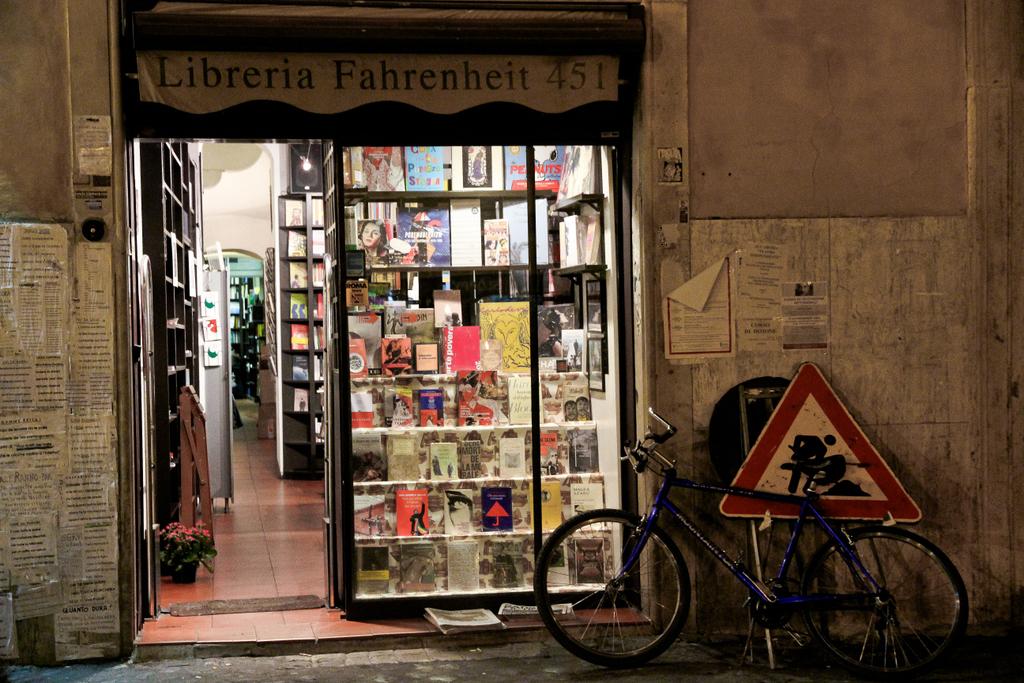 Librairie Fahrenheit 451 -Photo : André Lange-Médart)