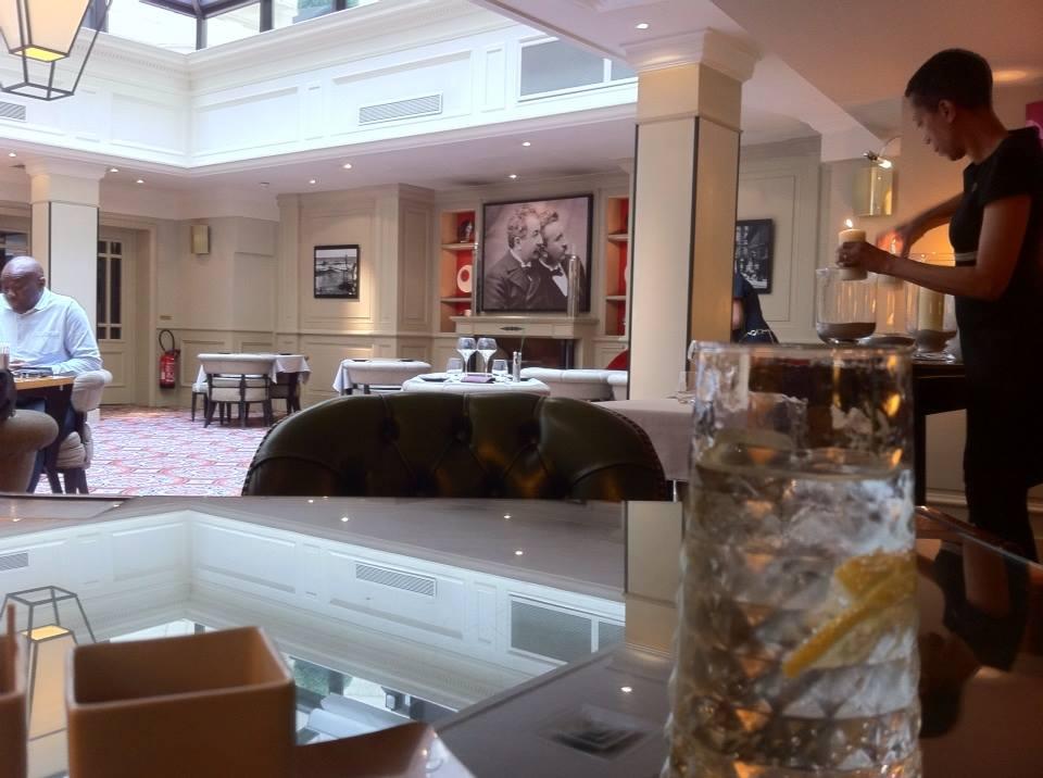 Salon indien de l'Hotel Scribe (Photo : André Lange Médart)