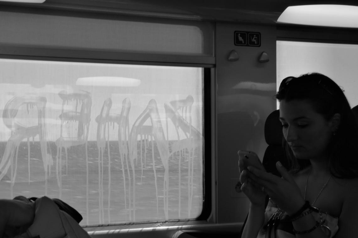 Entre Antibes et Cannes. Mai 2015.