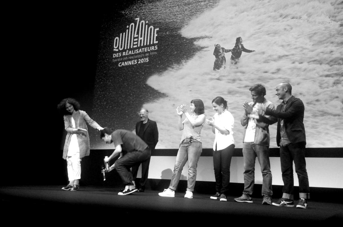 """Miguel Gomes rend hommage à l'interprète de la Quinzaine des Réalisateurs : """"She is a genious !""""."""