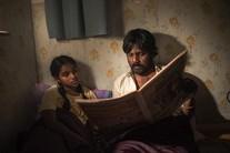 Yalini (Kalieaswari Srinivasan) et Dheepan (Antonythasan Jesuthasan), les deux protagonistes du film de Jacques Audiard.