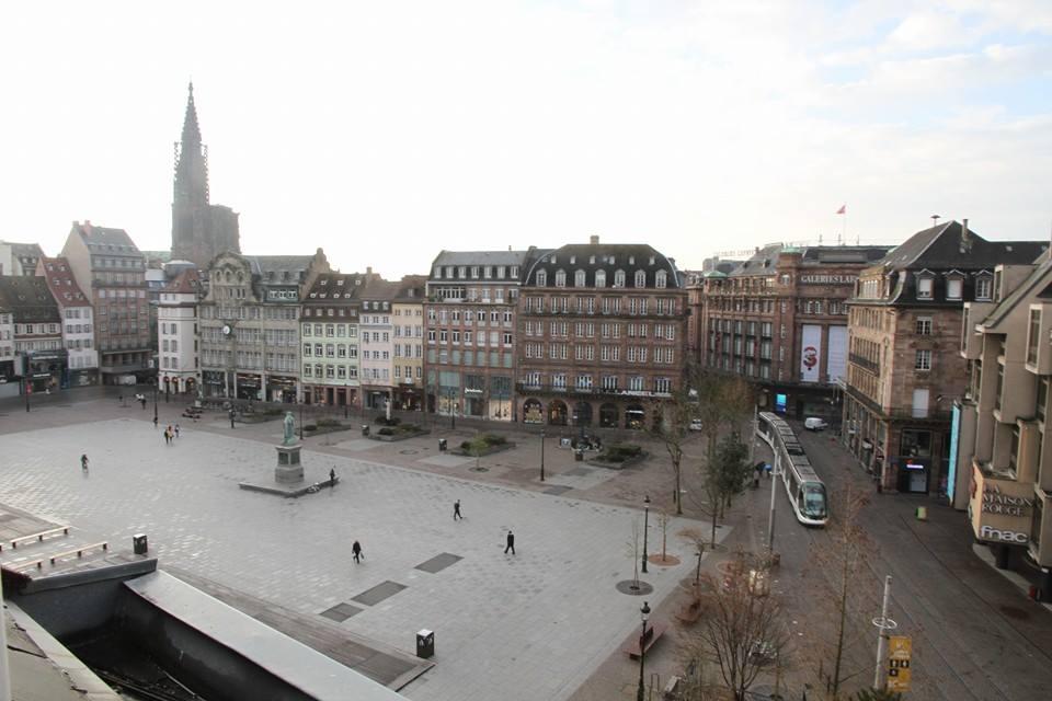 Place Kleber, Strasbourg (Photo : André Lange-Medart).