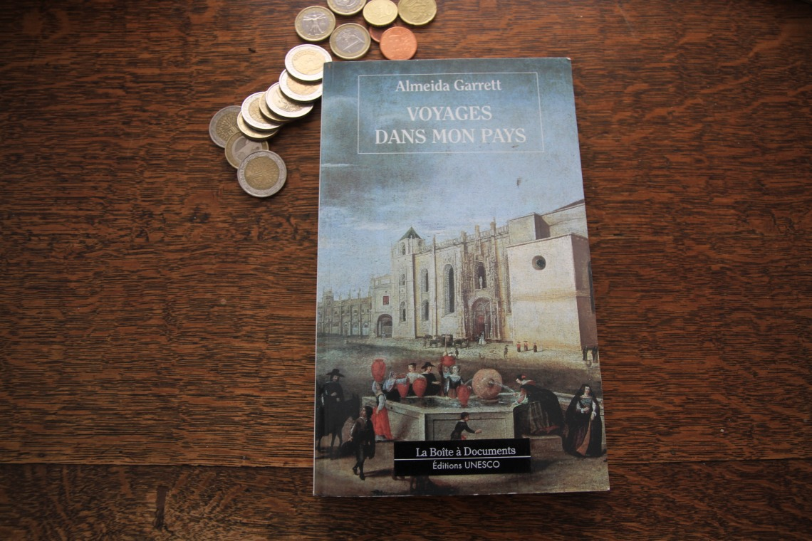 """""""Voyages dans mon pays"""" d'Almeida Garrett."""