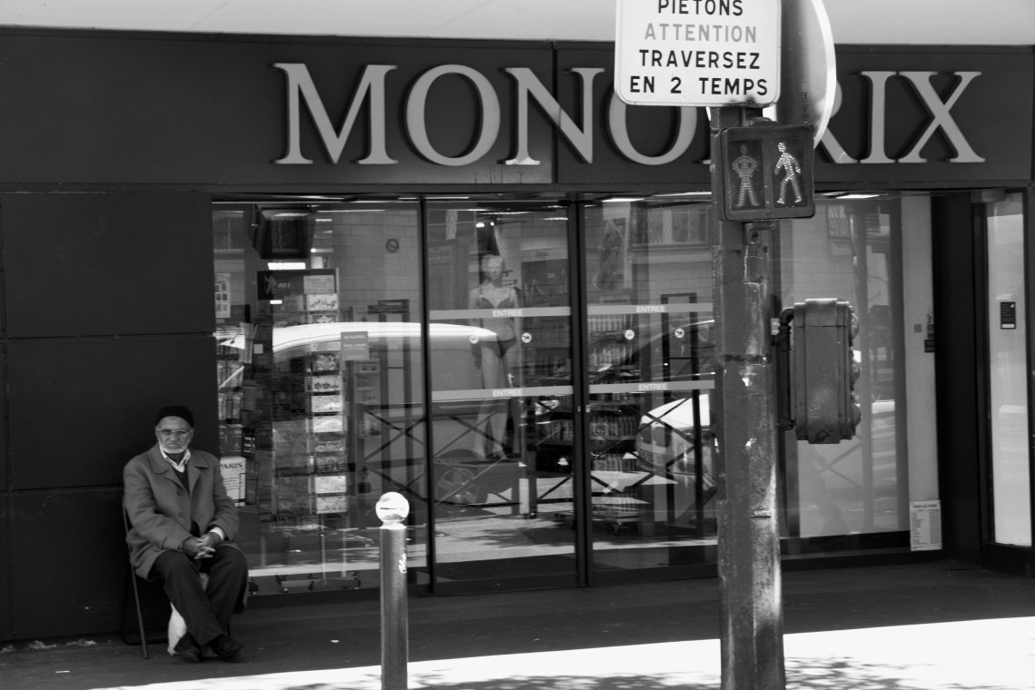 Rue Marx Dormoy (Photo : André Lange-Médart)