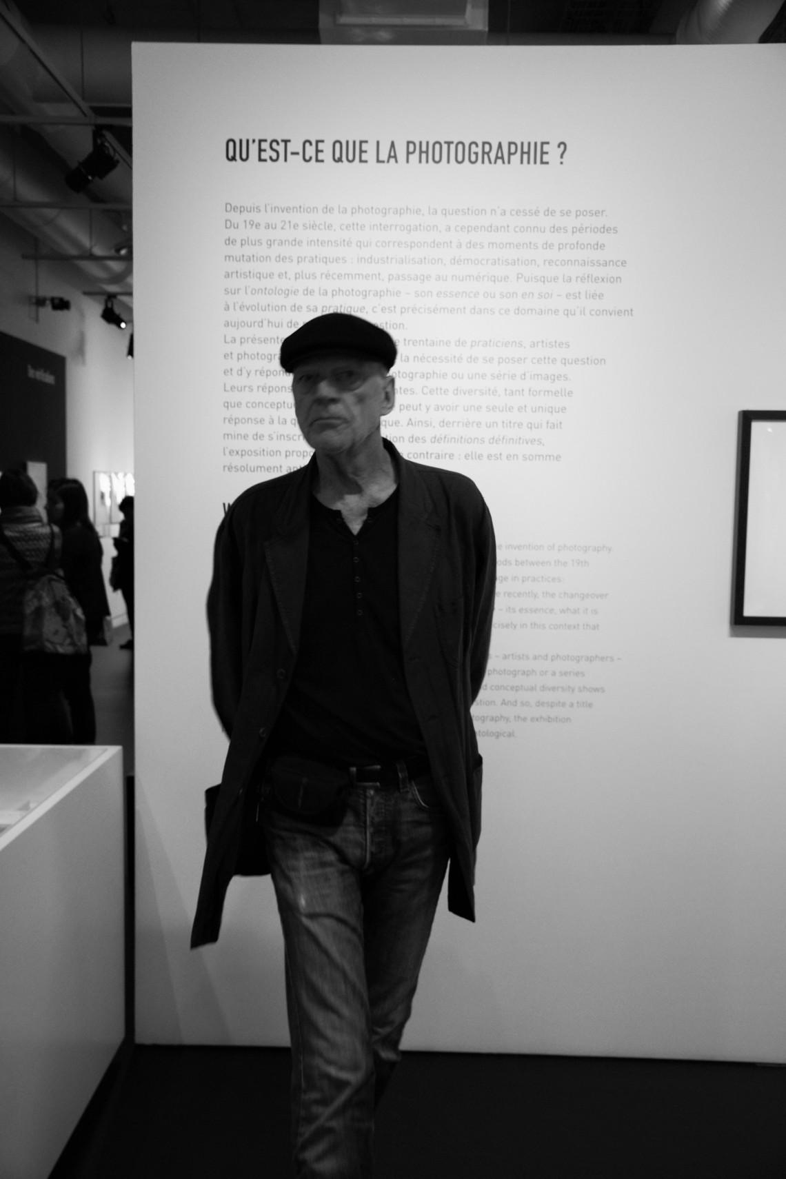 """""""Qu'est-ce que la photographie ?"""" (Centre Georges Pompido) (Photo : André Lange-Médart)"""