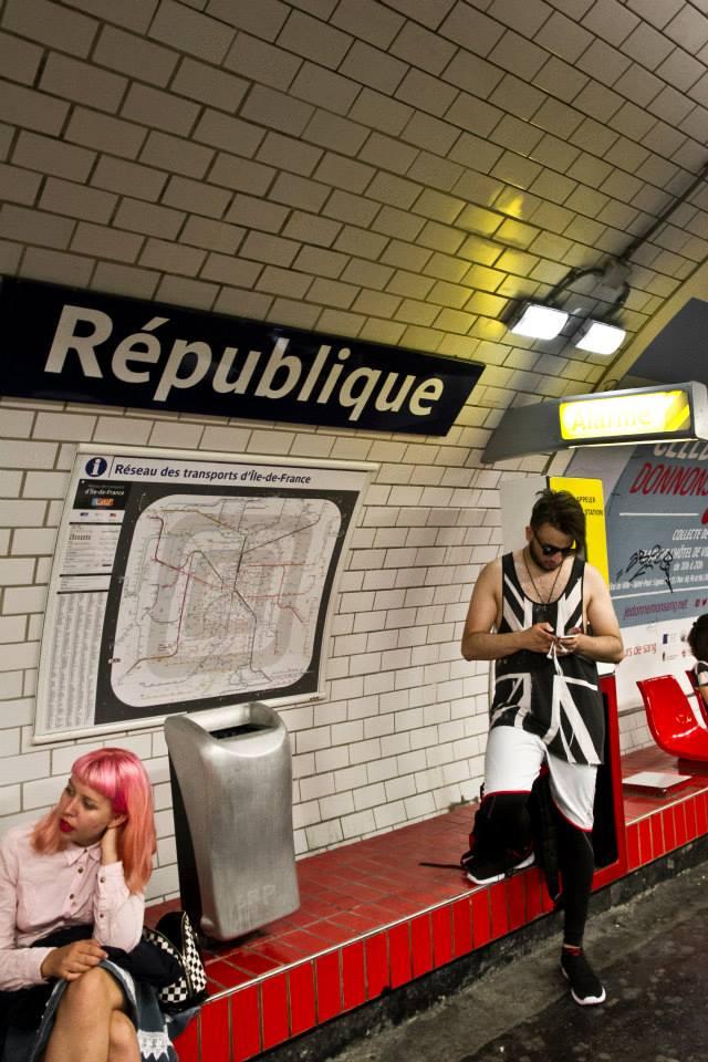 Bien longtemps après Waterloo (Paris, juin 2015) Photo : André Lange-Médart