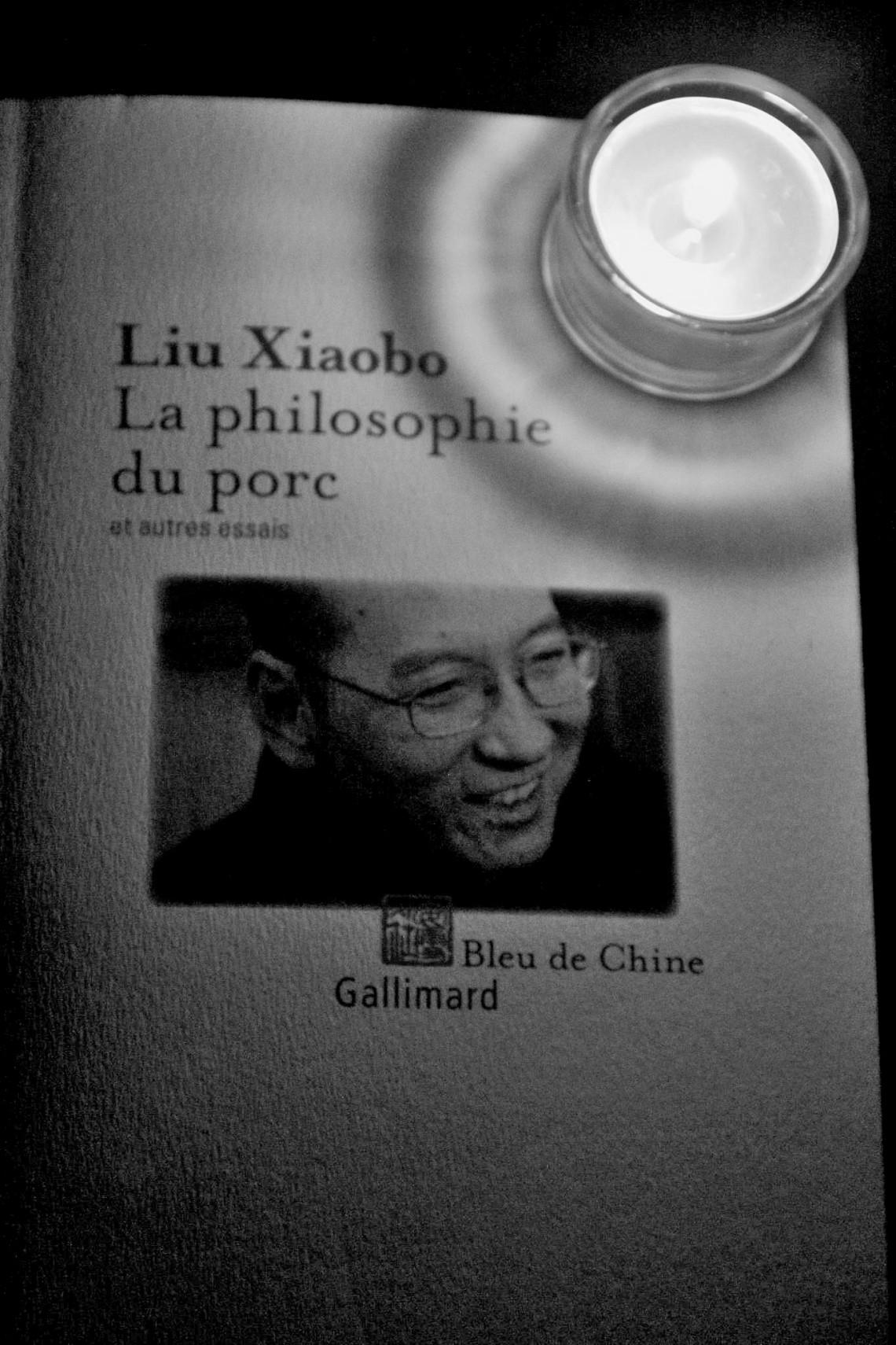 Une pensée pour Liu Xiabo (Photo : ANdré Lange-Médart)