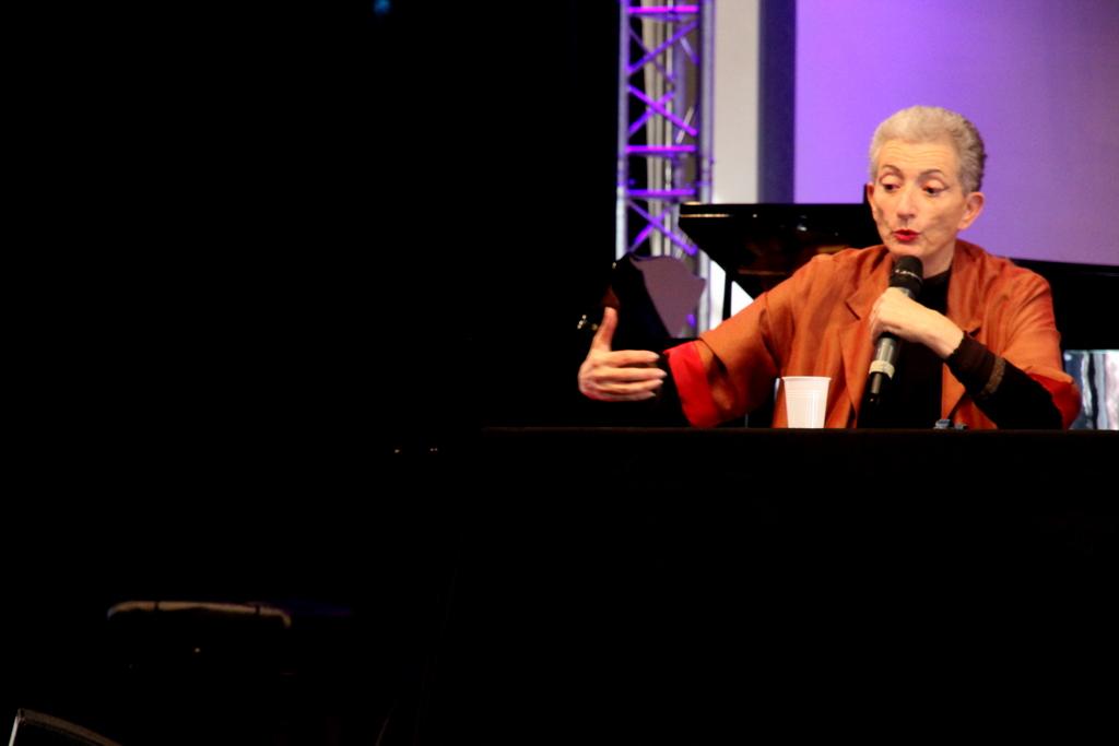 Hélène Cixous (Photo : André Lange-Médart)