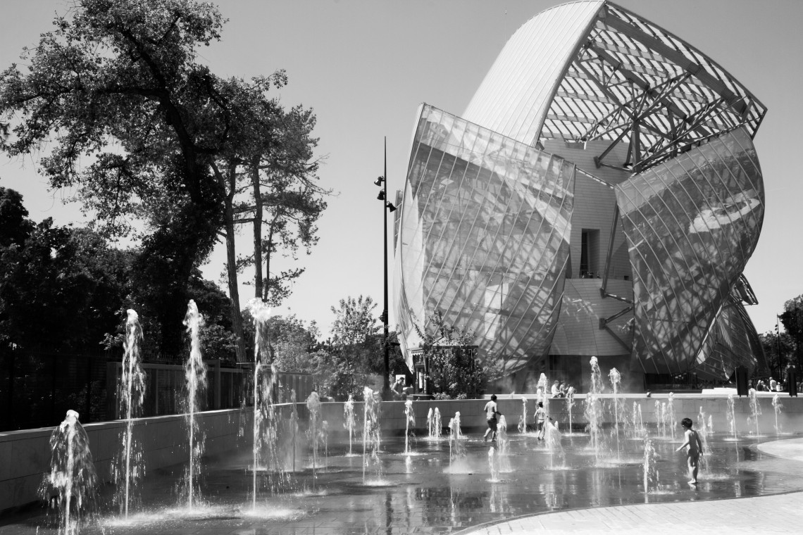 La Fondation Louis- Vuitton (Photo André Lange-Médart)