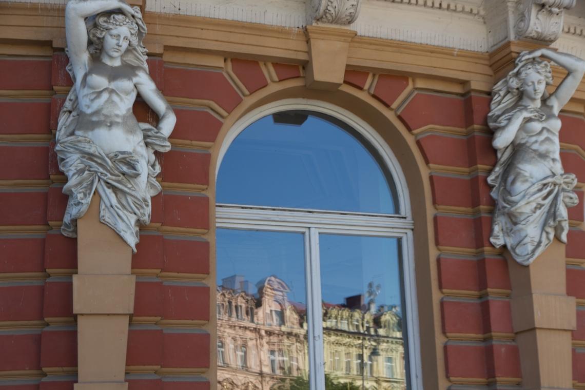 Façades à Karlovy Vary Photo André Lange-Médart