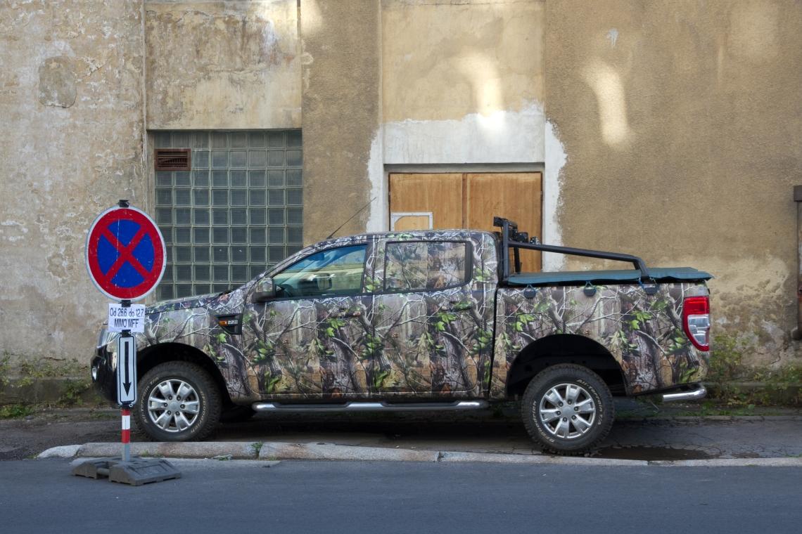 Camionette pop à Karlovy Vary Photo André Lange-Médart