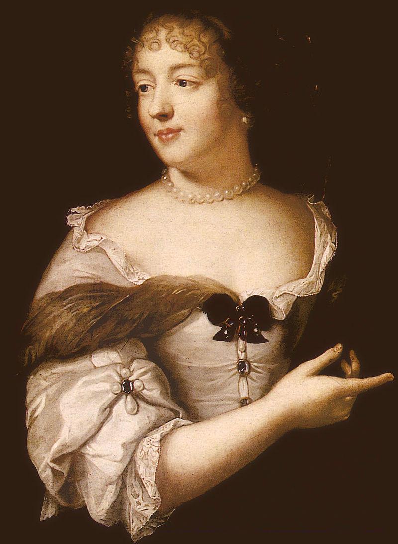 Portrait de Madame de Sévigné par Claude Lefebvre