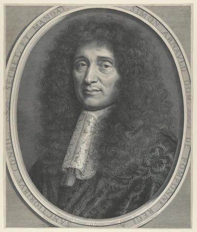 Simon Arnault, Marquis de Pomponne, Ministre des Affaires étrangères.