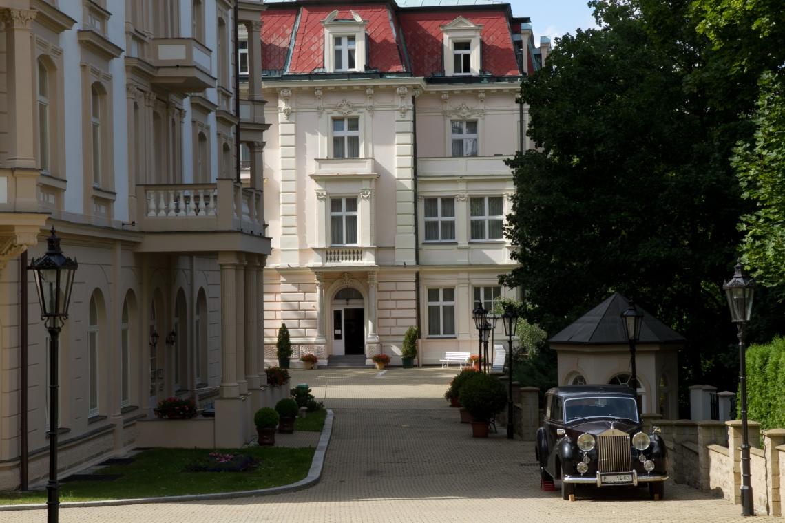 Dans le quartier russe de Karlovy Vary. Photo André Lange-Médart