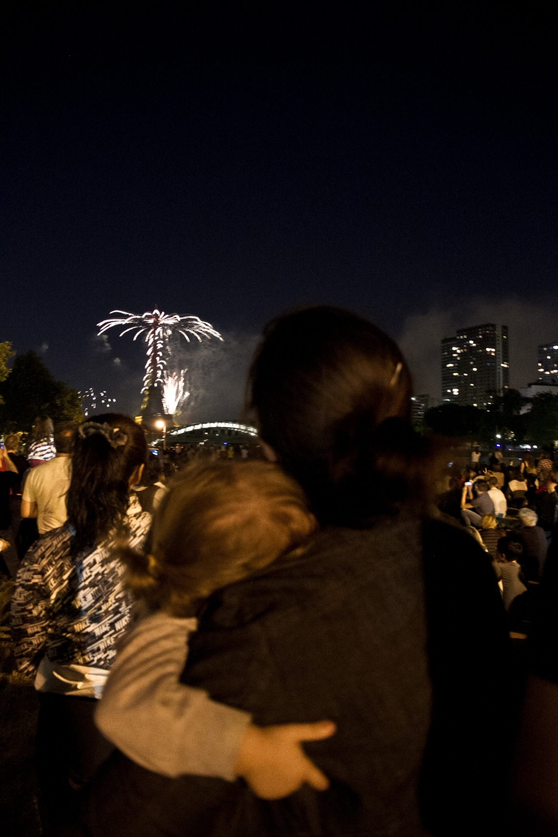 Feux d'artifice du 14 juillet 2015 Photo : André Lange-Médart
