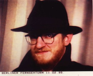 André Lange à la Berlinerfersehturm, 11 février 1995.