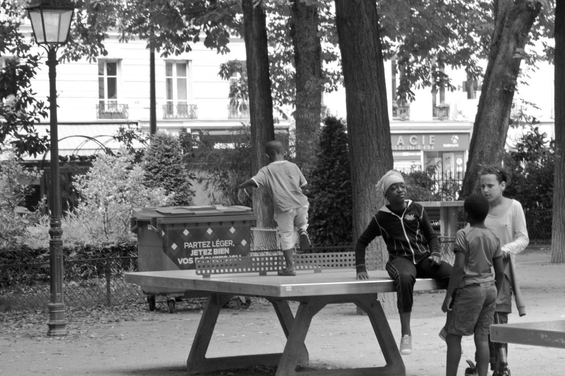 Square Armand Trousseau Photo André Lange-Médart