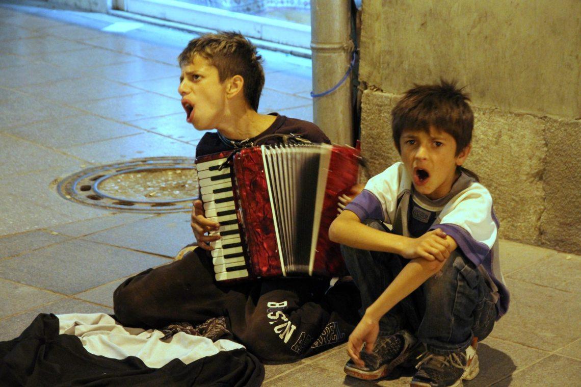 Enfants Roms, Sarajevo, juin 2012. Photo André Lange-Médart