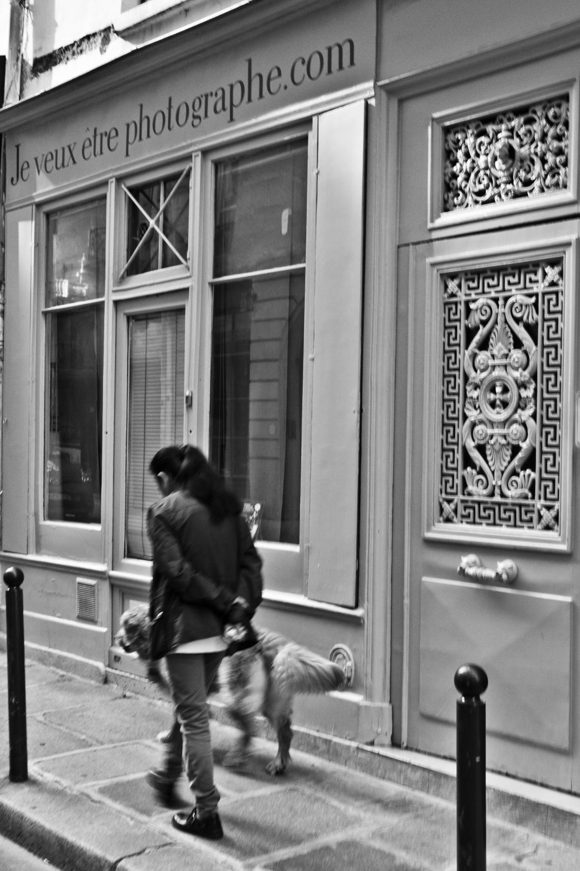 Je ne veux pas être photographe (Paris, juillet 2015) Photo André Lange-Médart