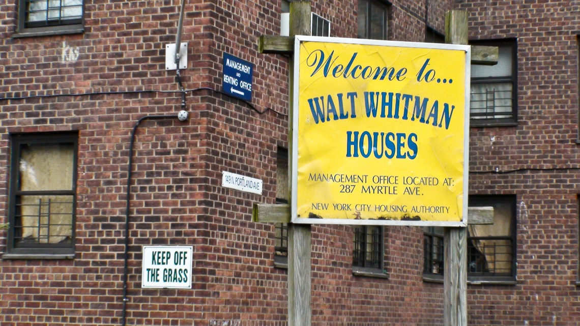 Walt Whitman Houses, (Brooklyn, avril 2009) Photo André Lange-Médart