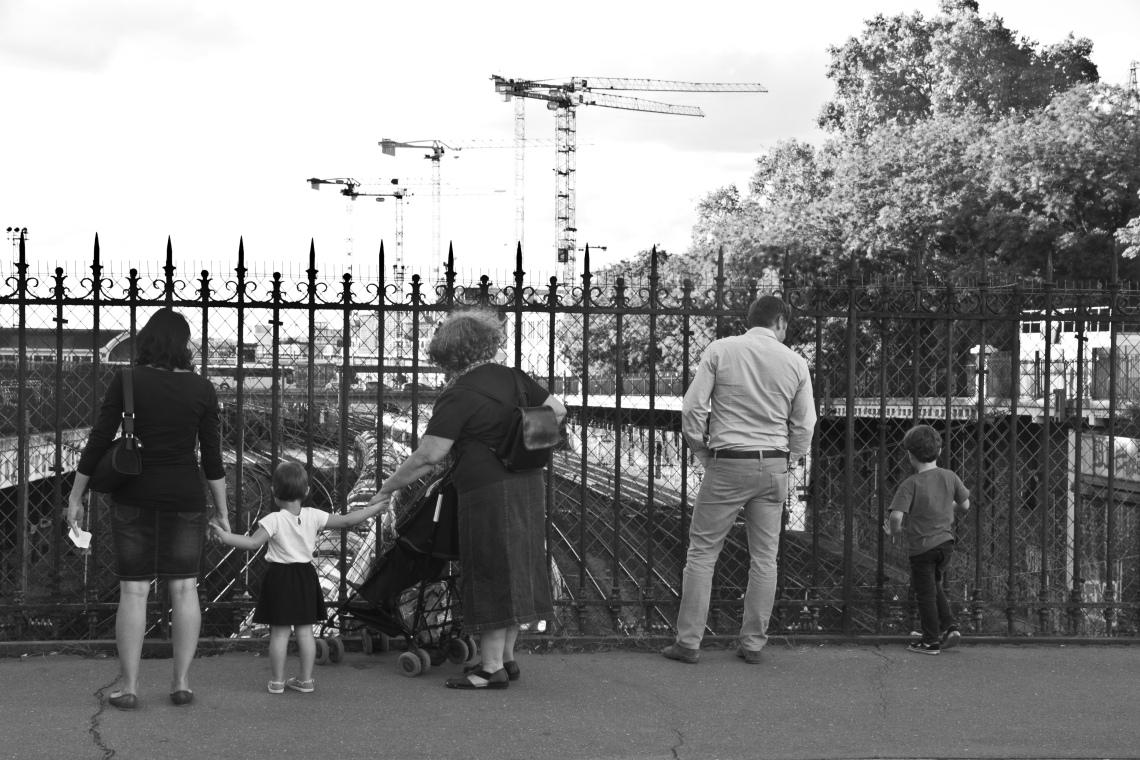 Entre Rue de Rome et Batignolles (août 2015) Photo André Lange-Médart