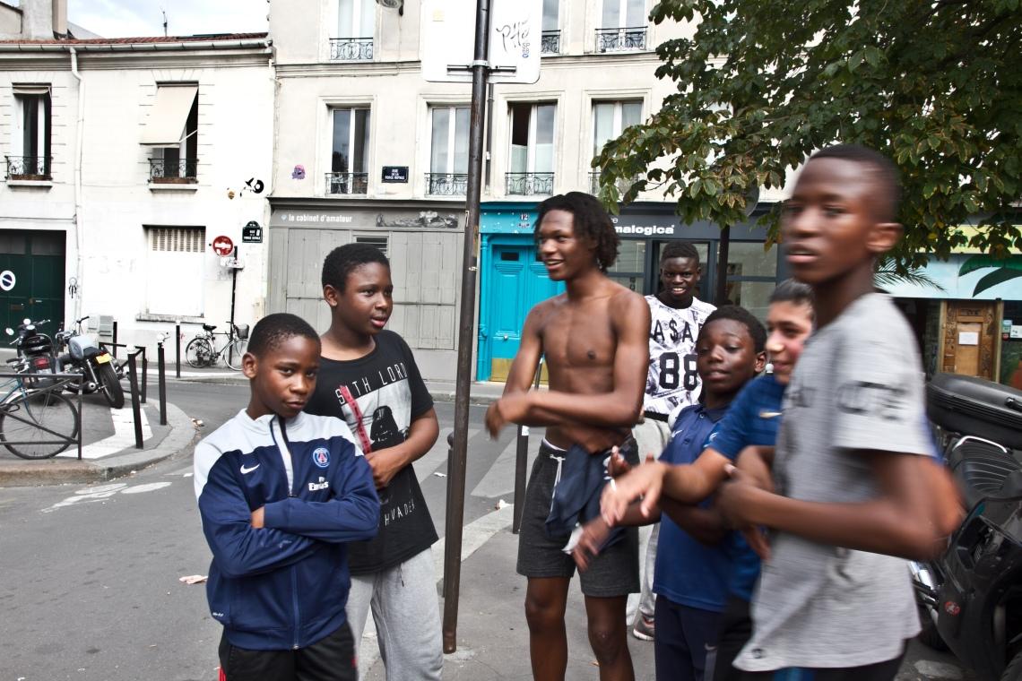 Les potes de la Rue de Candie Photo André Lange-Médart