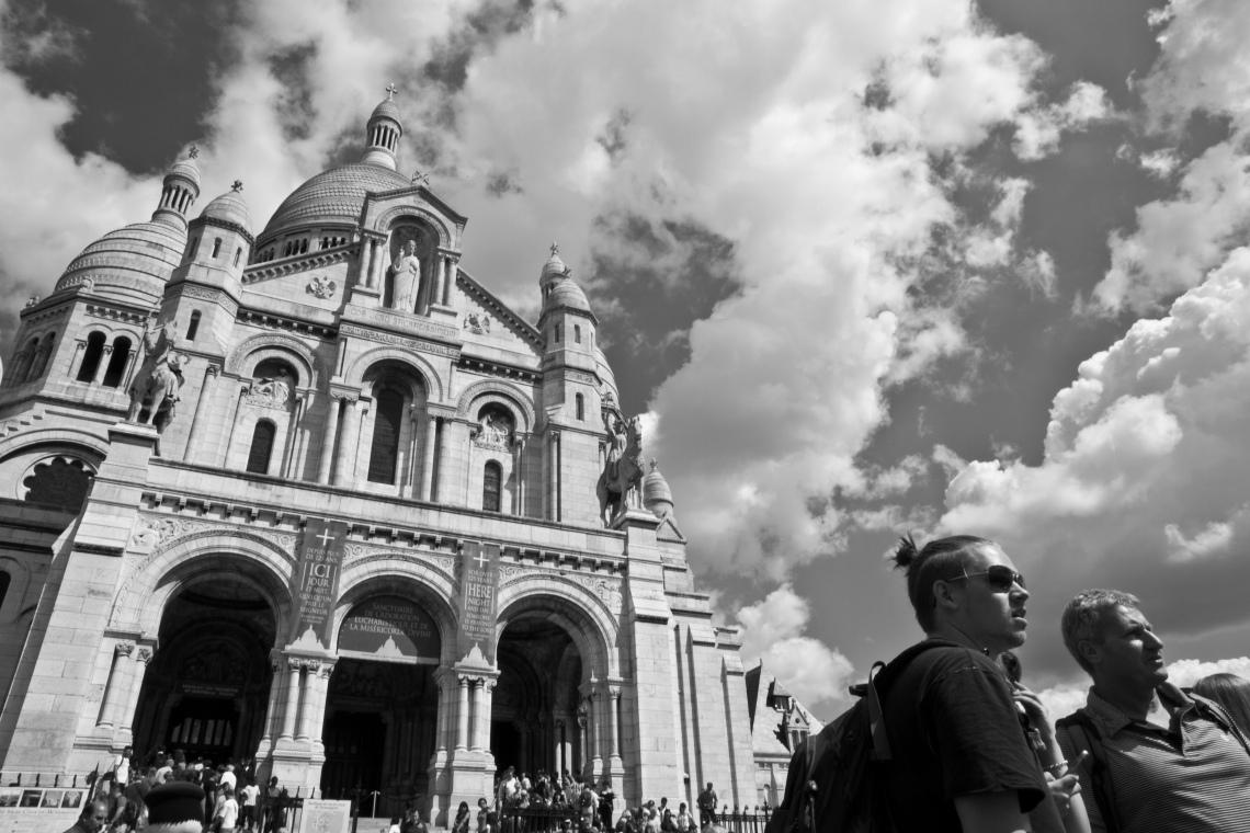 Pleins feux sur le Sacré-Coeur ! Photo André Lange-Médart