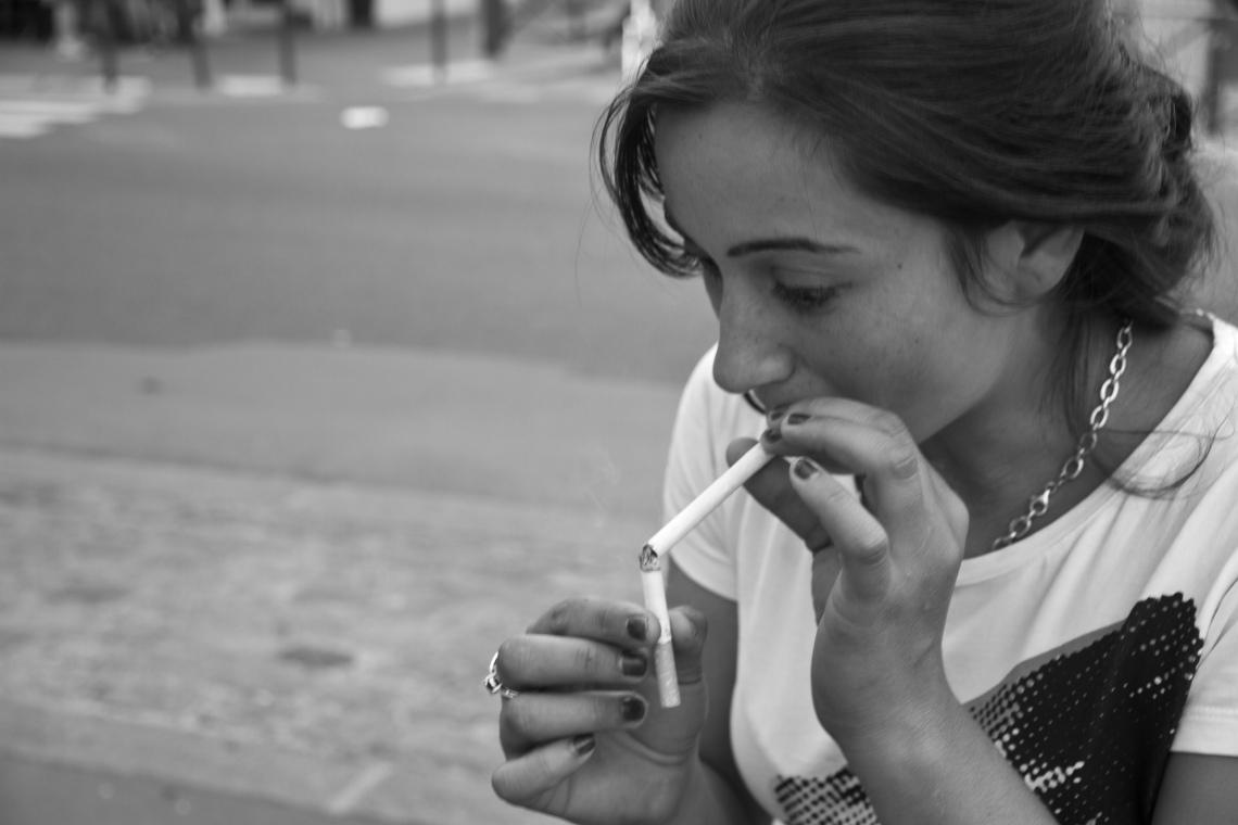 La jolie môme de l'Avenue d'Ivry. Photo André Lange-Médart