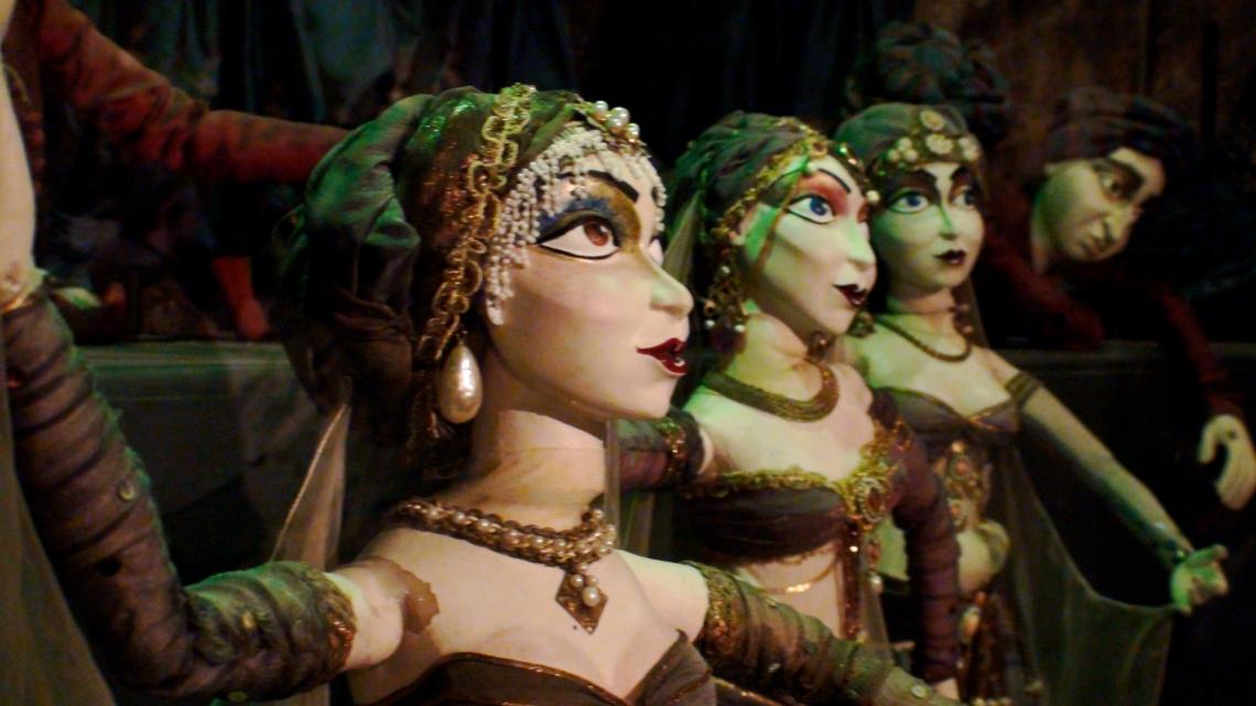 Marionnettes de Salzbourg      Photo André Lange-Médart