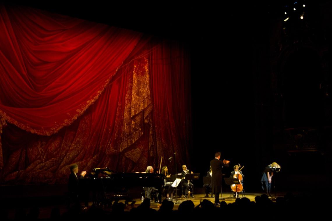 Les interprètes du Pierrot lunaire (Photo André Lange-Médart)