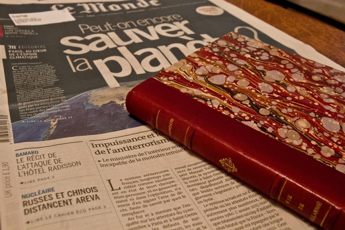 Lectures du jour (Photo André Lange-Médart)