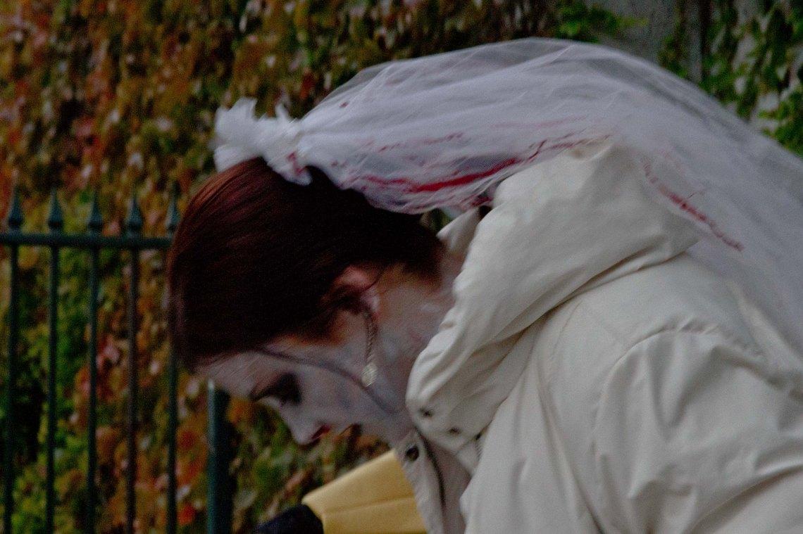 Mariée zombie (Photo André Lange-Médart)