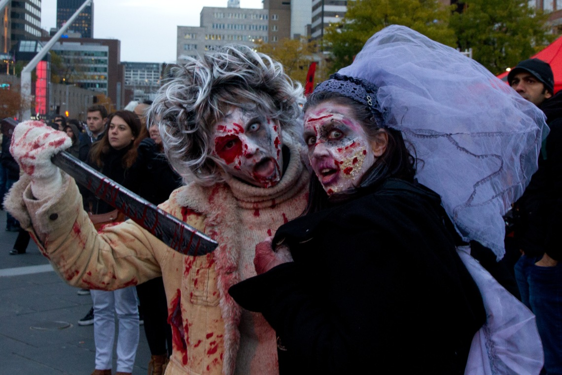 Couple zombie (Photo André Lange-Médart)