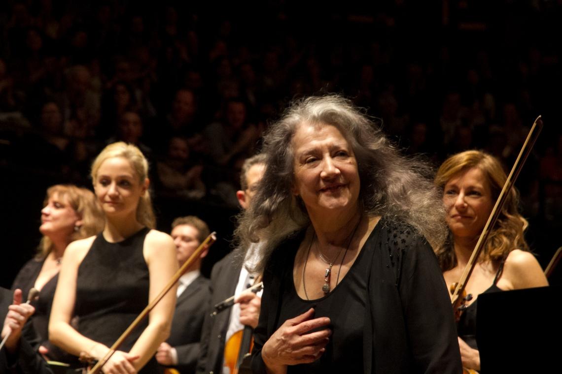 Martha Arguerich (Photo André Lange-Médart)