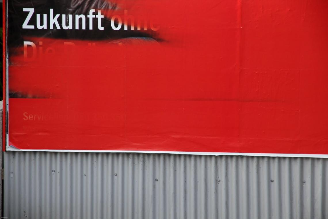 """Zukunft"" (""Avenir"") Vienne, juillet 2011. Photo André Lange-Médart"