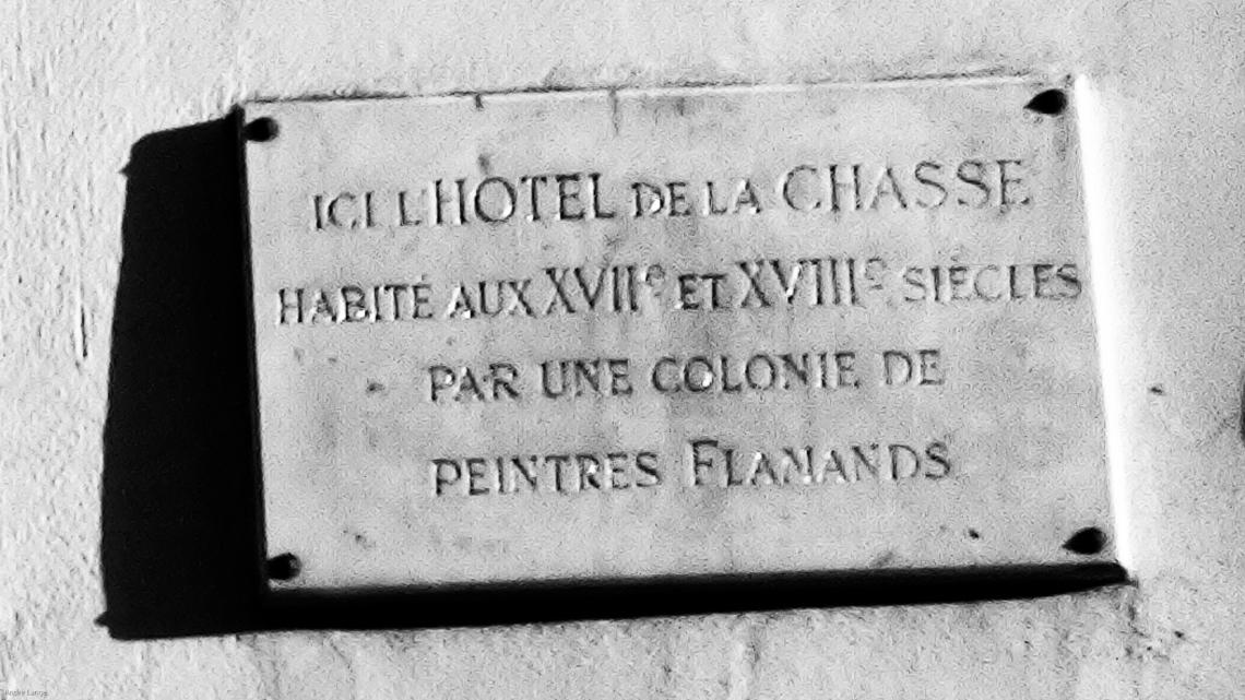 Hôtel de Chasse (Rue du Dragon, Paris, décembre 2009) - Photo André Lange-Médart