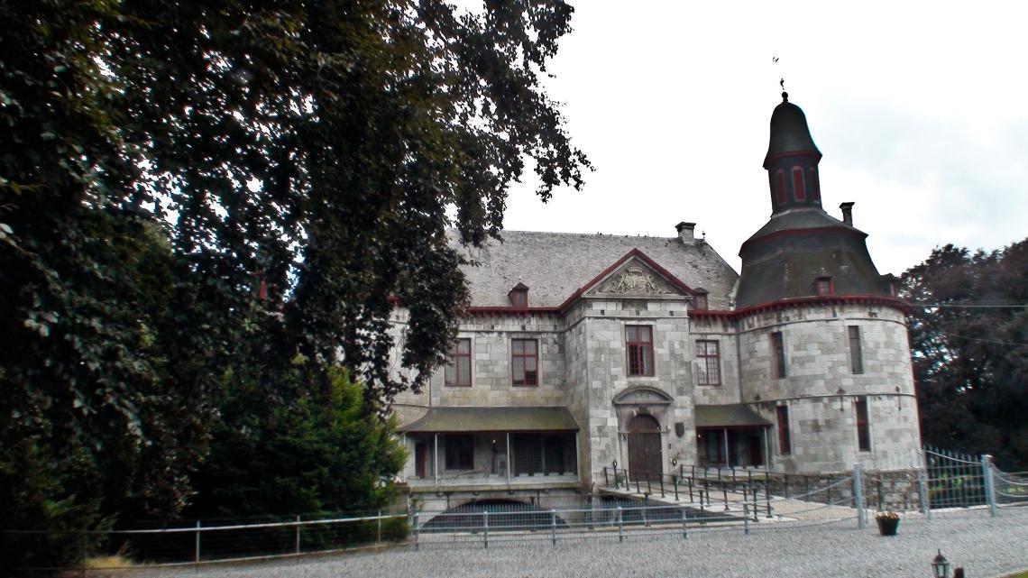 Le château de Horion (Photo André Lange-Médart).