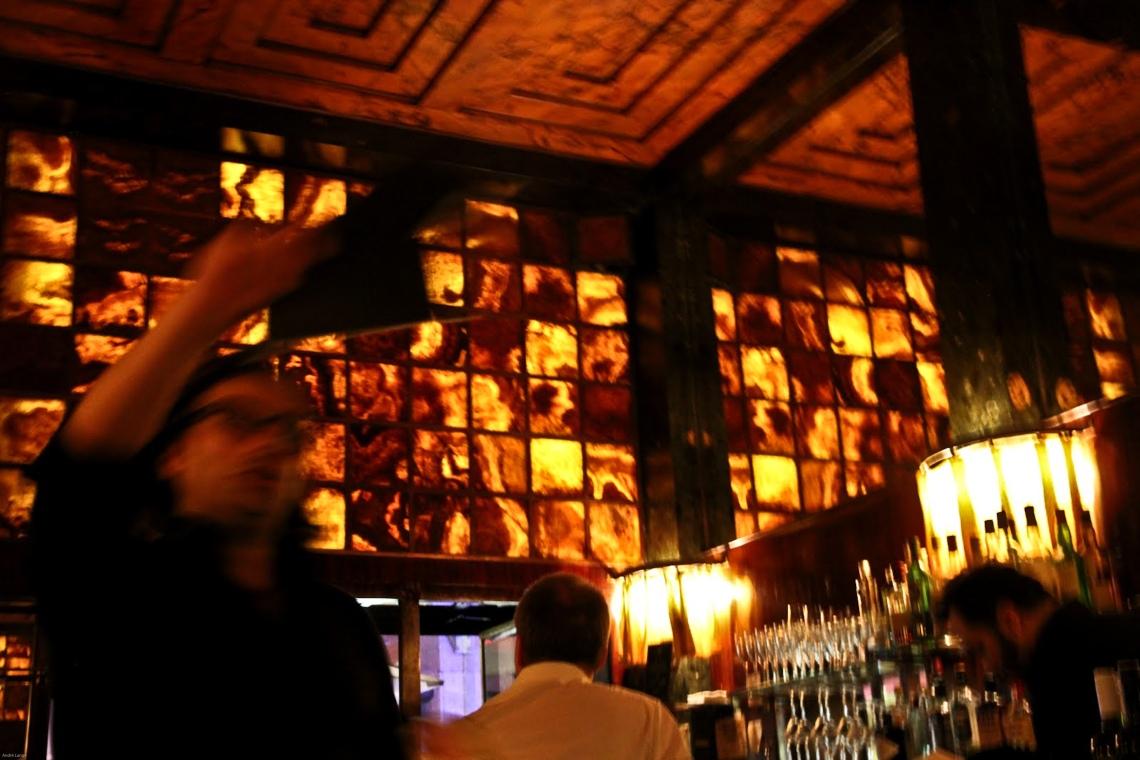 American Bar, concu par l'architecte Alfred Loos (vienne, juillet 2011) Photo André Lange-Médart.